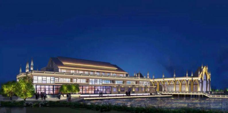 婚礼堂发布:西南婚宴新地标,湖景巴洛克建筑风格  第5张