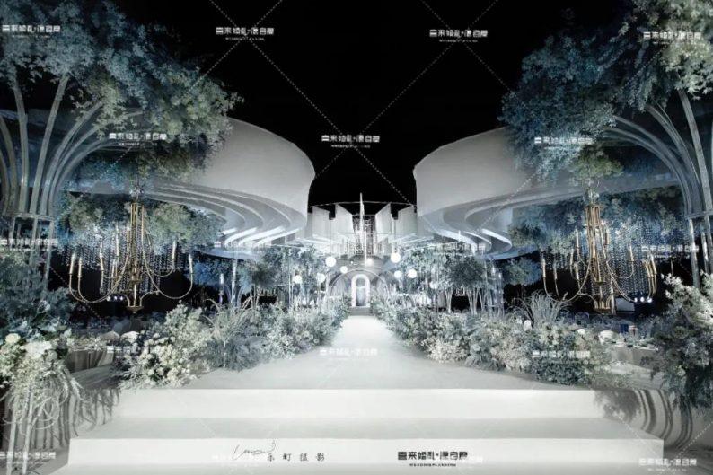婚礼堂发布:西南婚宴新地标,湖景巴洛克建筑风格  第7张