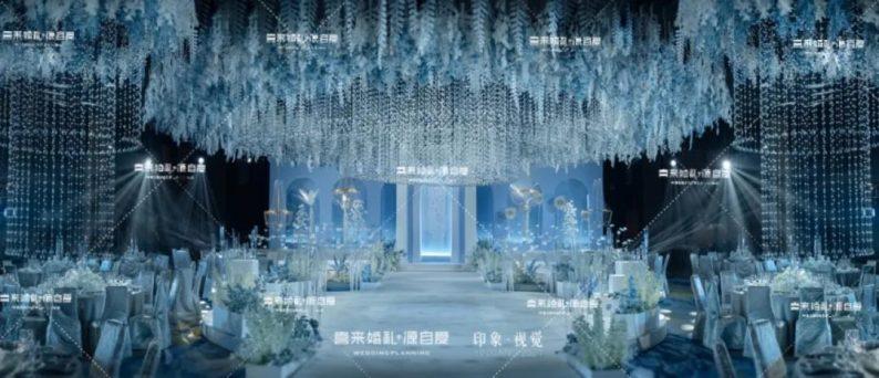 婚礼堂发布:西南婚宴新地标,湖景巴洛克建筑风格  第8张