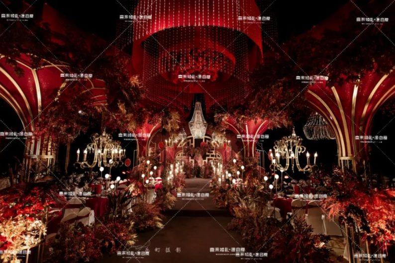 婚礼堂发布:西南婚宴新地标,湖景巴洛克建筑风格  第9张