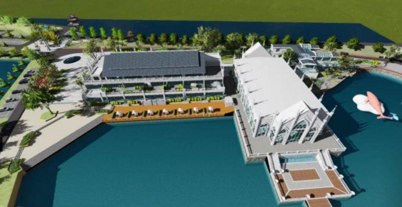 婚礼堂发布:西南婚宴新地标,湖景巴洛克建筑风格  第13张