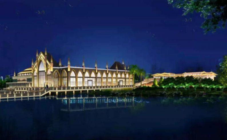 婚礼堂发布:西南婚宴新地标,湖景巴洛克建筑风格  第14张