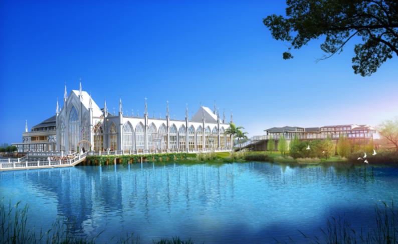 婚礼堂发布:西南婚宴新地标,湖景巴洛克建筑风格  第17张