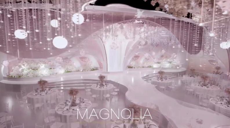 婚礼堂发布:上海曼格纳全新高定艺术系列【繁华之序】  第5张