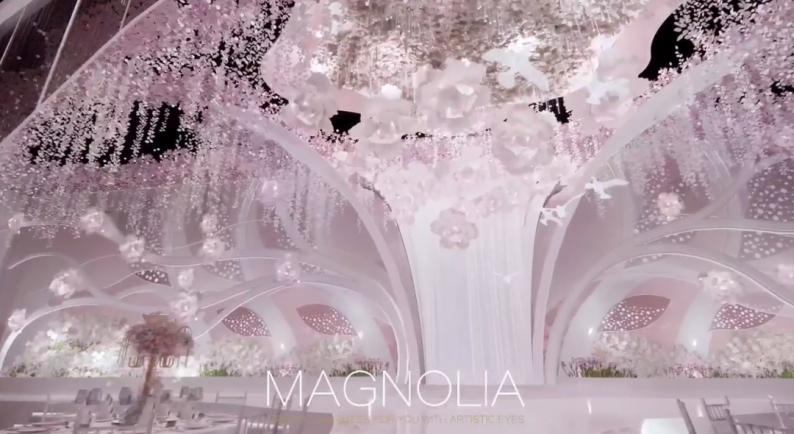婚礼堂发布:上海曼格纳全新高定艺术系列【繁华之序】  第7张
