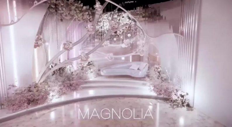 婚礼堂发布:上海曼格纳全新高定艺术系列【繁华之序】  第9张