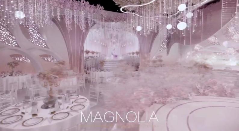 婚礼堂发布:上海曼格纳全新高定艺术系列【繁华之序】  第11张