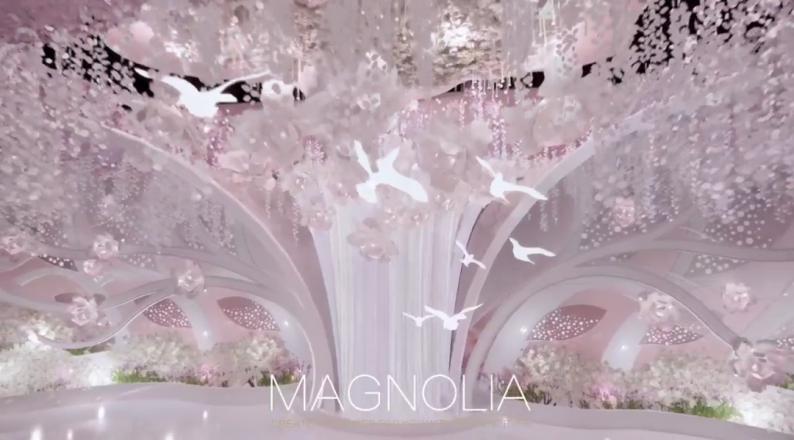 婚礼堂发布:上海曼格纳全新高定艺术系列【繁华之序】  第14张