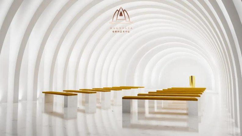 婚礼堂发布:上海曼格纳全新高定艺术系列【繁华之序】  第15张