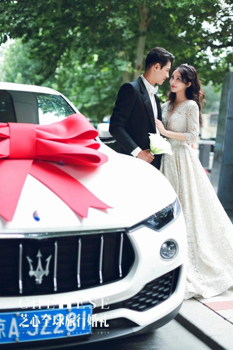 户外明星婚礼|李子峰&林籽甜蜜大婚  第9张