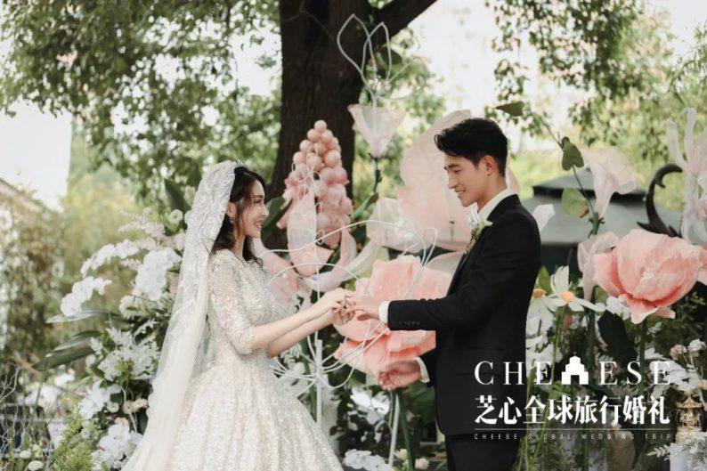 户外明星婚礼|李子峰&林籽甜蜜大婚  第12张