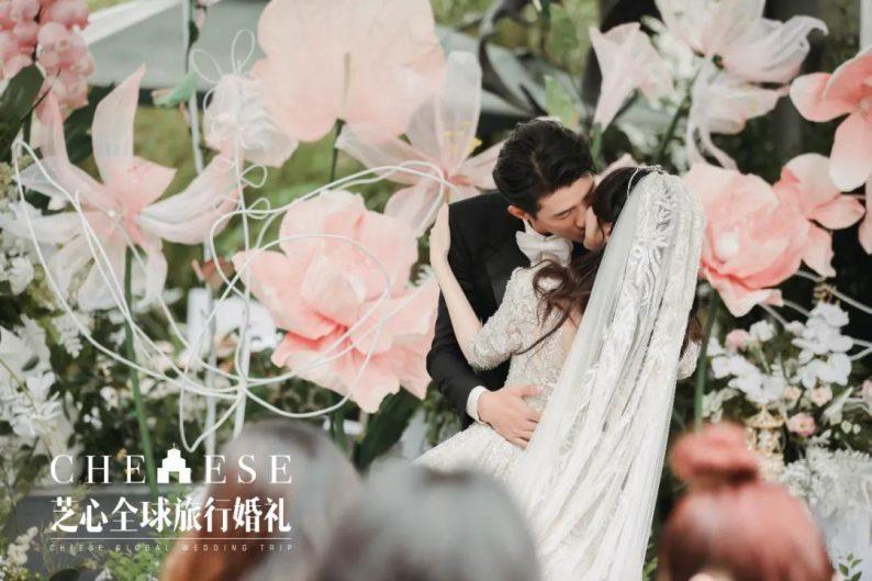 户外明星婚礼|李子峰&林籽甜蜜大婚  第28张