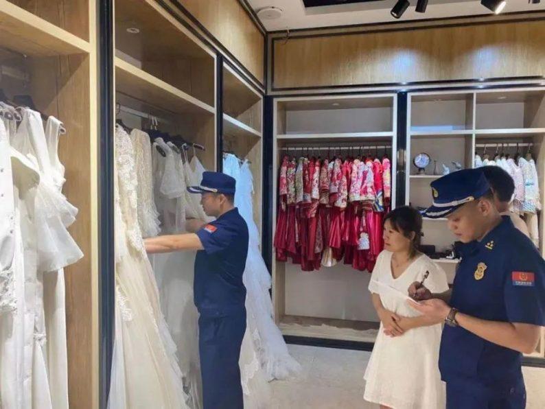 全国多地开展婚纱摄影消防安全检查  第5张