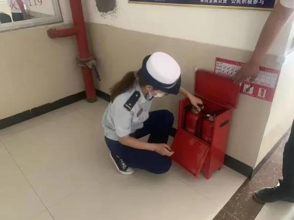 婚礼堂开展消防安全演练……