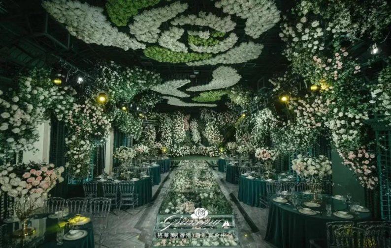 婚礼堂发布:全国第8家门店,上海格莱美.顾村公园店  第13张