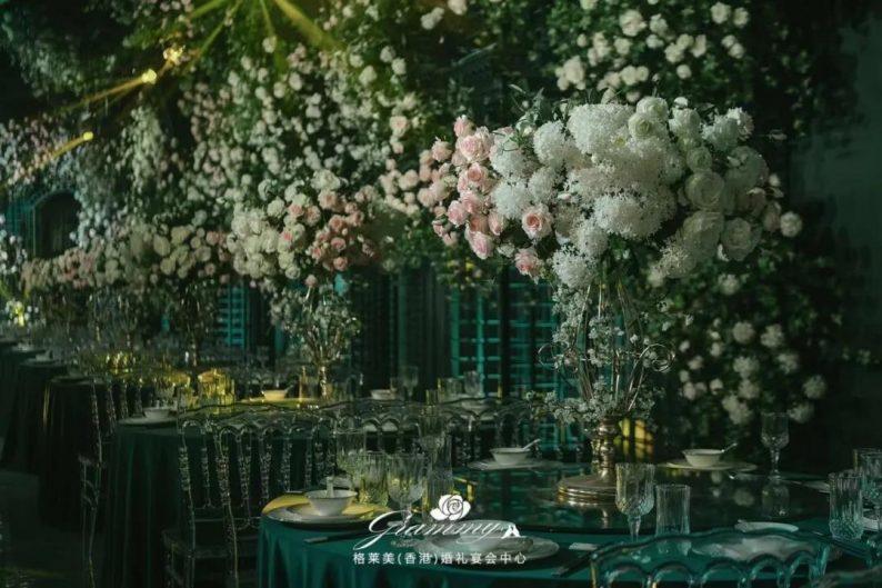 婚礼堂发布:全国第8家门店,上海格莱美.顾村公园店  第16张