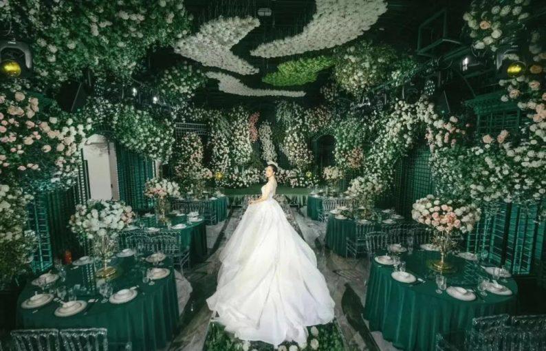 婚礼堂发布:全国第8家门店,上海格莱美.顾村公园店  第17张
