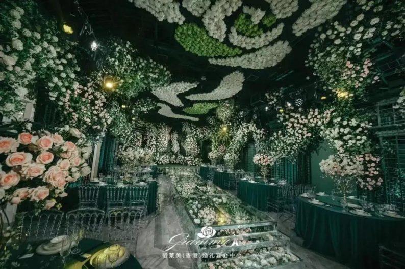 婚礼堂发布:全国第8家门店,上海格莱美.顾村公园店  第14张