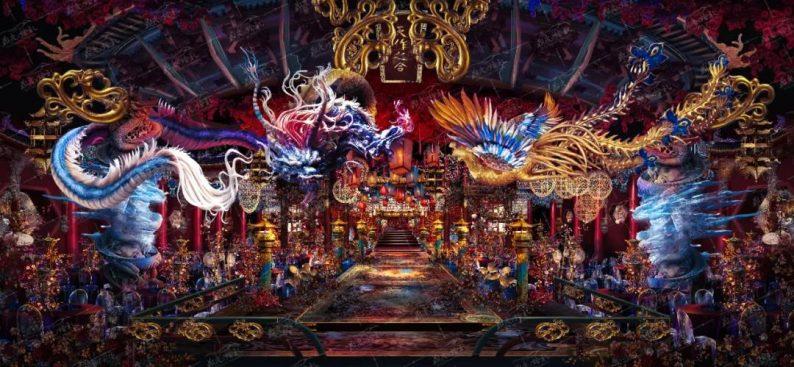 历时百天!设计师李华义缔造中式《琼华神殿》  第9张