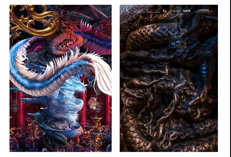 历时百天!设计师李华义缔造中式《琼华神殿》  第12张