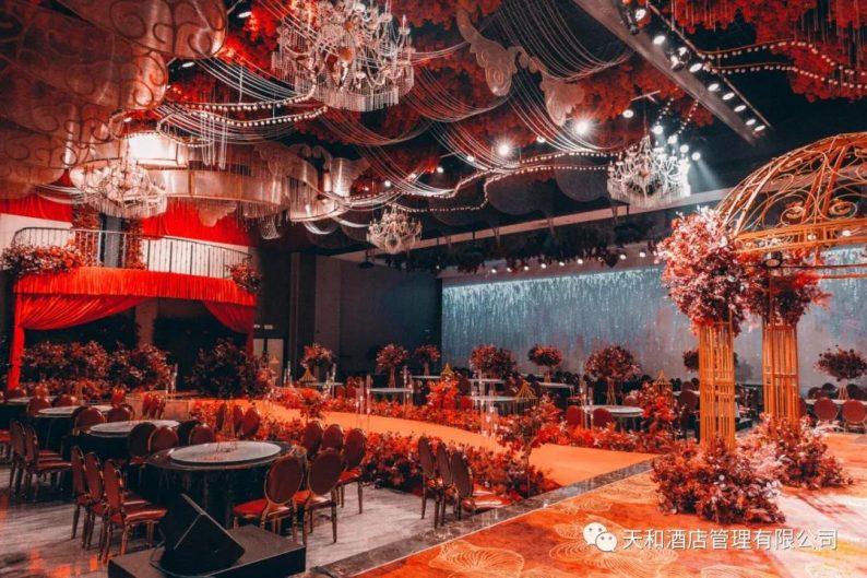 婚礼堂发布:4大主题宴会厅!桐柏盘古大酒店简介  第2张