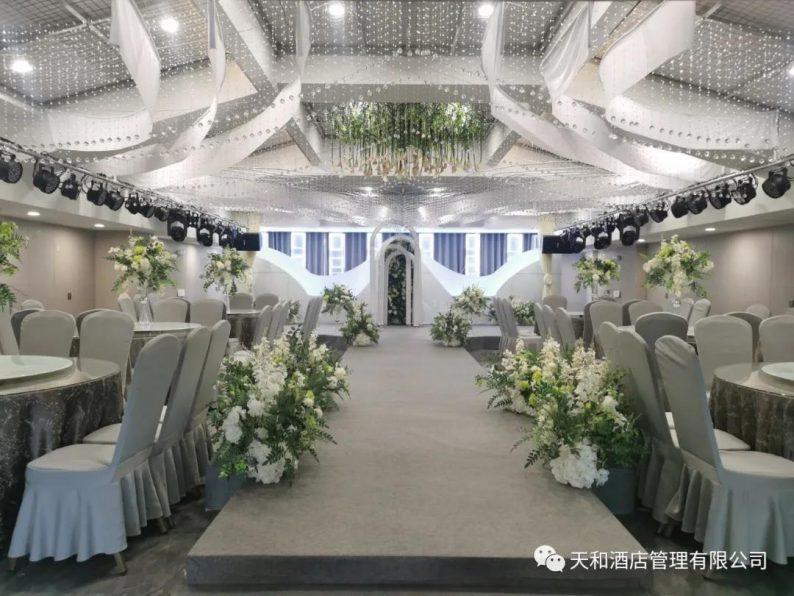 婚礼堂发布:4大主题宴会厅!桐柏盘古大酒店简介  第6张