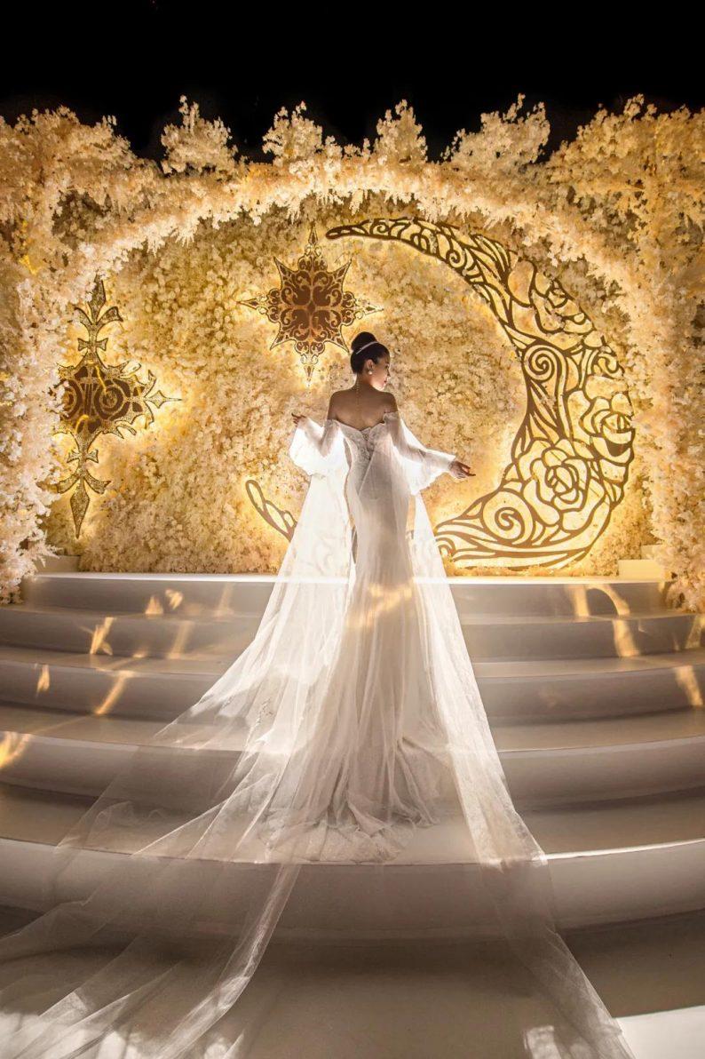婚礼堂发布:金色复古宫殿!天合志禧最新沉浸式宴会厅  第3张