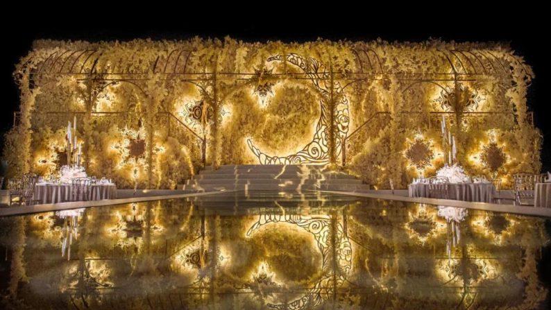 婚礼堂发布:金色复古宫殿!天合志禧最新沉浸式宴会厅  第8张
