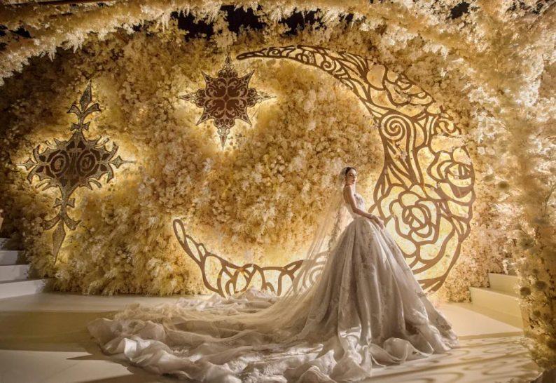 婚礼堂发布:金色复古宫殿!天合志禧最新沉浸式宴会厅  第9张
