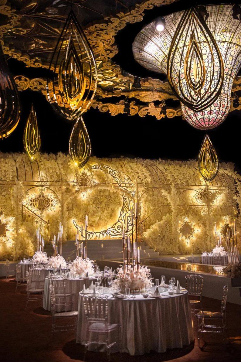 婚礼堂发布:金色复古宫殿!天合志禧最新沉浸式宴会厅  第10张