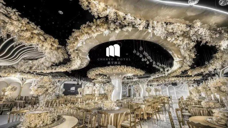 婚礼堂走多远,取决于顶层……  第1张