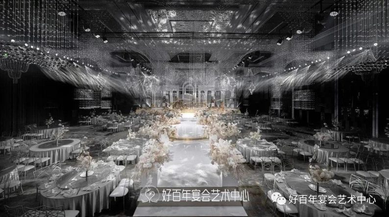 婚礼堂发布:贵州好百年,重磅打造1000平金色大厅  第1张