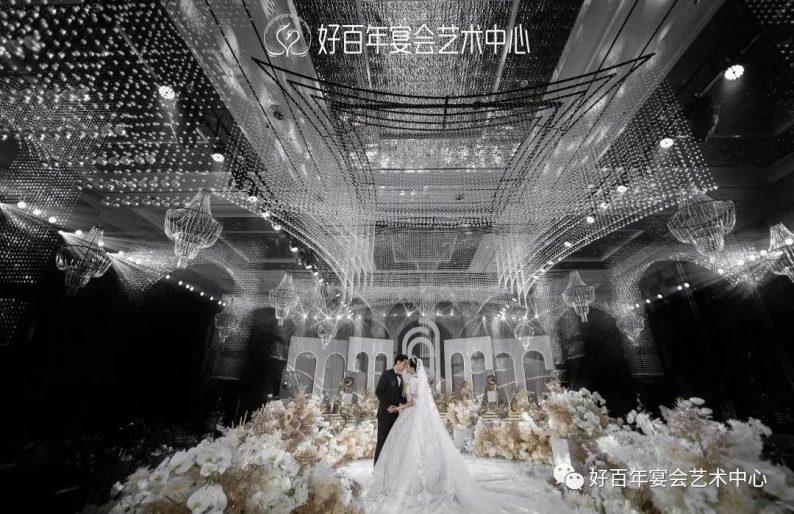 婚礼堂发布:贵州好百年,重磅打造1000平金色大厅  第6张