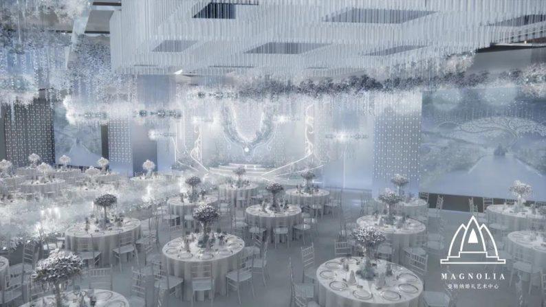 婚礼堂发布:上海曼格纳又一新品【冰蓝之翎】  第3张