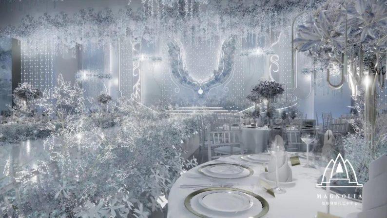 婚礼堂发布:上海曼格纳又一新品【冰蓝之翎】  第6张