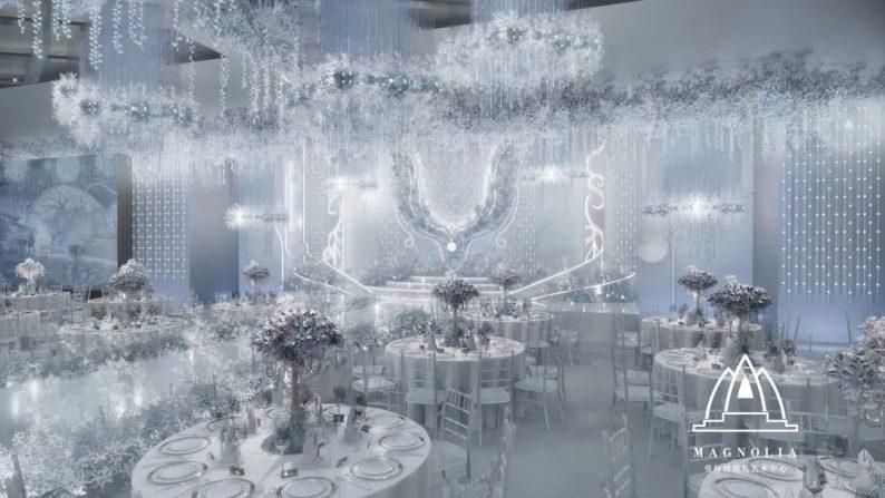 婚礼堂发布:上海曼格纳又一新品【冰蓝之翎】  第7张