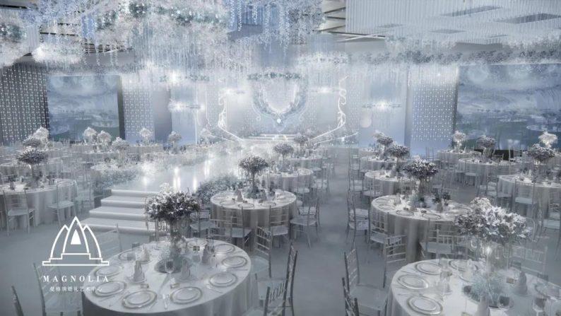 婚礼堂发布:上海曼格纳又一新品【冰蓝之翎】  第10张