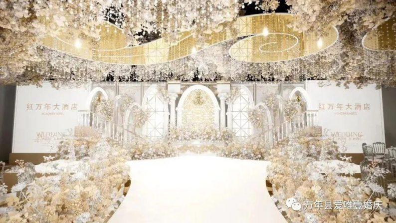 婚礼堂发布:五线城市商务酒店,打造2大宴会厅  第4张