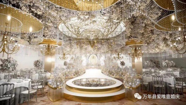 婚礼堂发布:五线城市商务酒店,打造2大宴会厅  第5张