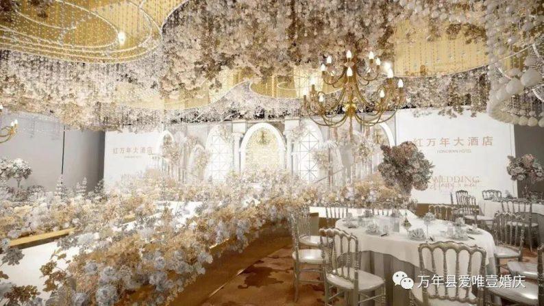 婚礼堂发布:五线城市商务酒店,打造2大宴会厅  第6张