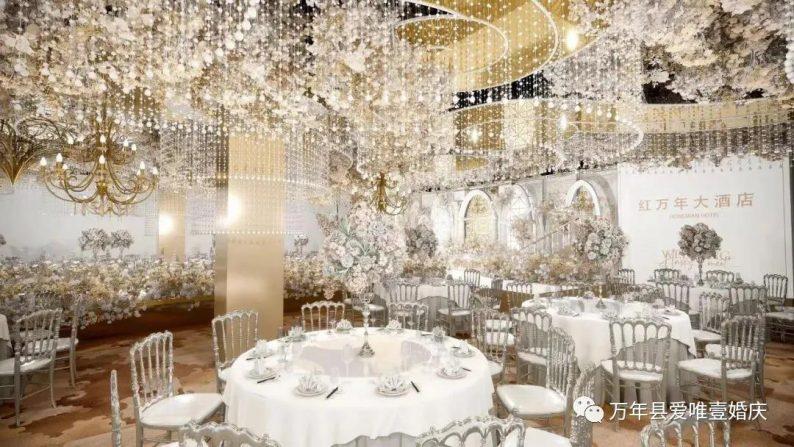 婚礼堂发布:五线城市商务酒店,打造2大宴会厅  第7张