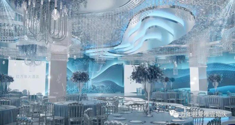 婚礼堂发布:五线城市商务酒店,打造2大宴会厅  第10张