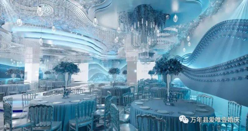 婚礼堂发布:五线城市商务酒店,打造2大宴会厅  第11张