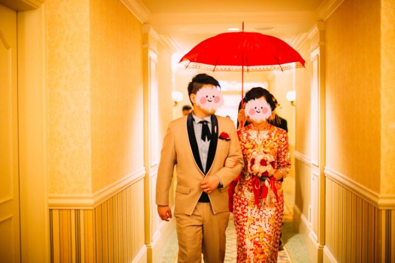 一场香港传统婚礼!  第8张