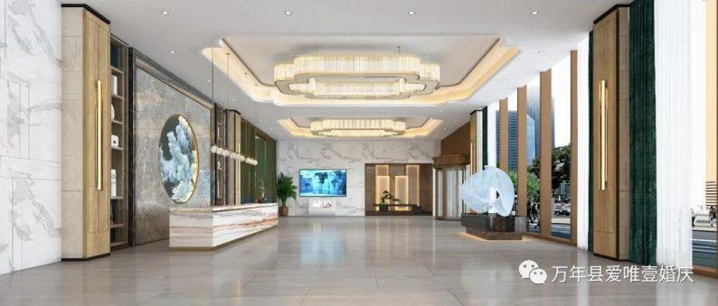 婚礼堂发布:五线城市商务酒店,打造2大宴会厅  第3张
