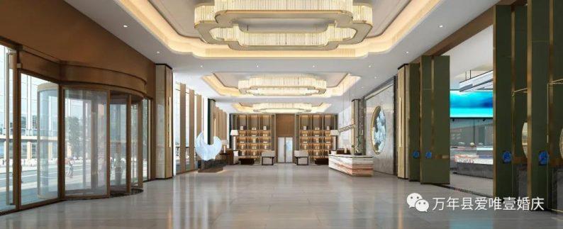 婚礼堂发布:五线城市商务酒店,打造2大宴会厅  第2张