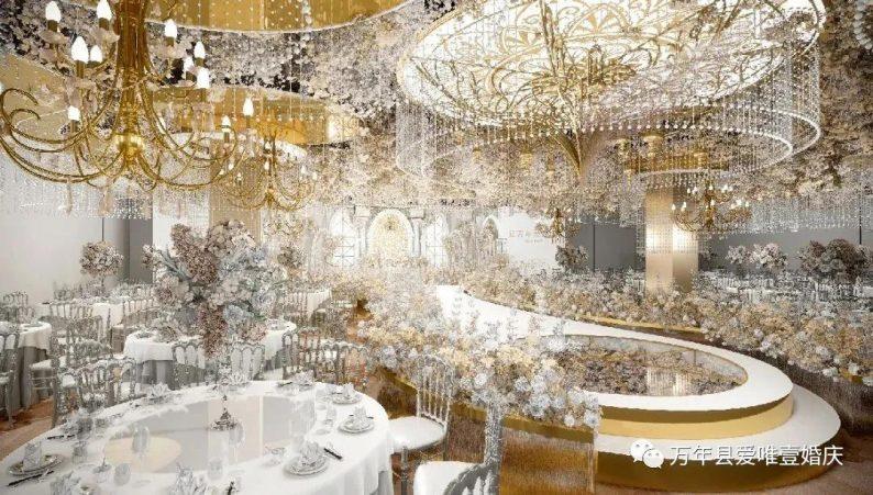 婚礼堂发布:五线城市商务酒店,打造2大宴会厅  第1张