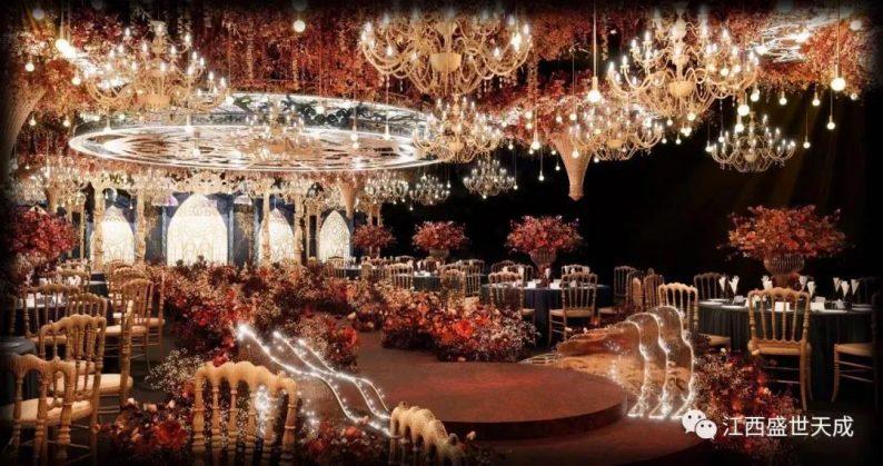 婚礼堂发布:3大宴会厅!江西上犹首家百万婚礼堂酒店  第3张