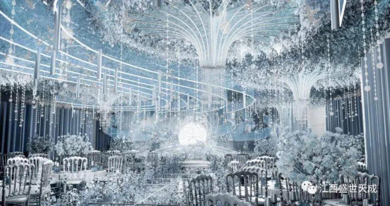 婚礼堂发布:3大宴会厅!江西上犹首家百万婚礼堂酒店  第7张