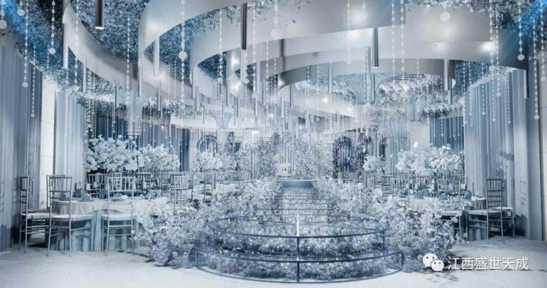 婚礼堂发布:3大宴会厅!江西上犹首家百万婚礼堂酒店  第8张